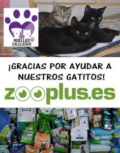 Donativo de Zooplus.es