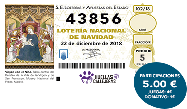 Participaciones Lotería Navidad Ecofriendly