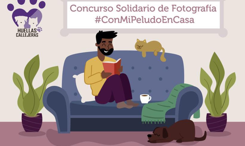 Concurso Solidario de Fotografía #ConMiPeludoEnCasa