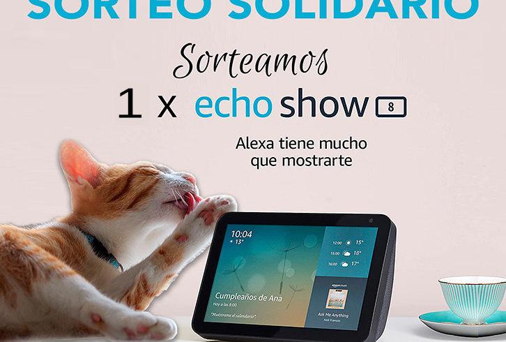 SORTEO SOLIDARIO ECHO SHOW 8