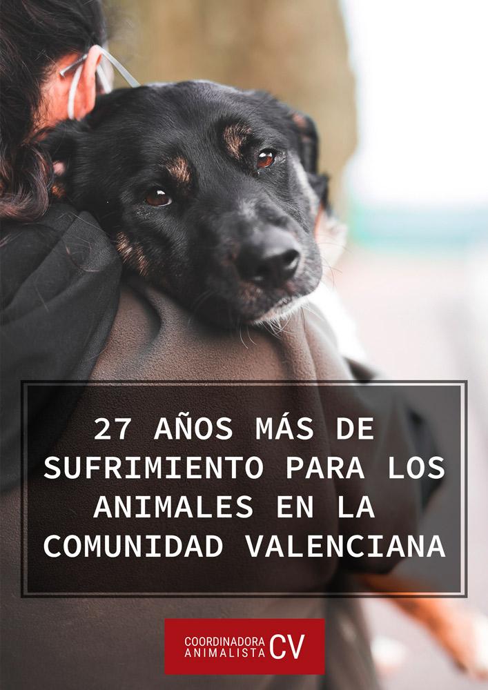 Sobre la futura ley de protección animal de la Comunidad Valenciana